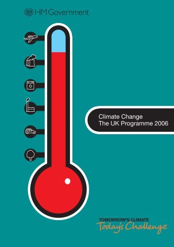 UK Climate Change Programme 2006 - JNCC - Defra