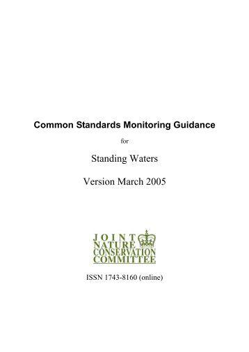Common Standards Monitoring Guidance for ... - JNCC - Defra