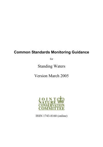 Common Standards Monitoring Guidance for ... - JNCC - Defra