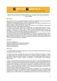 Myiase furonculoïde sud-américaine ou ver macaque