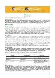 1 Avitaminoses - Médecine tropicale
