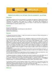 Myiase furonculoïde ou ver de Cayor - Médecine tropicale