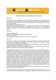 Porocéphalose chez un Gabonais. Cas clinique - Médecine tropicale