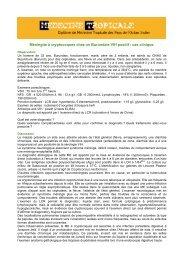 méningite à cryptocoques - Médecine tropicale