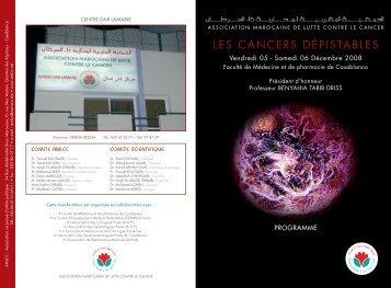 L'association marocaine de lutte contre le cancer ... - Pharmacies.ma