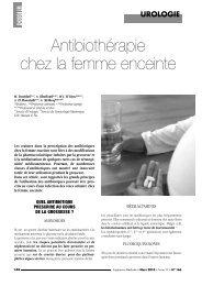 Antibiothérapie chez la femme enceinte - Pharmacies.ma