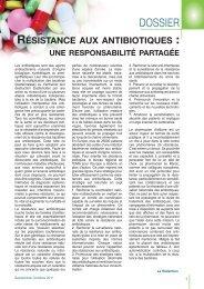 résistance aux antibiotiques - Pharmacies.ma