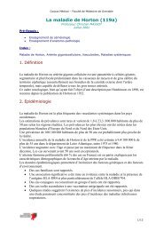 La maladie de Horton (119a)