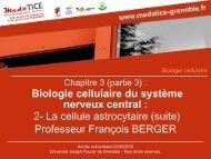 Biologie cellulaire - Université Joseph Fourier
