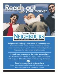 Neighbours is Calgary's best source of community ... - Canada.com