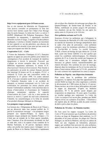 Lettre du Cedre n°32