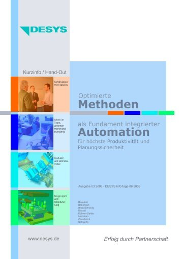 Methoden Automation - DESYS
