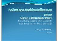 Loi sur la responsabilité environnementale - Point de vue ... - Cedre