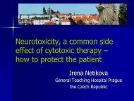 Neurotoxicity, a common side effect of cytotoxic therapy – how to ...