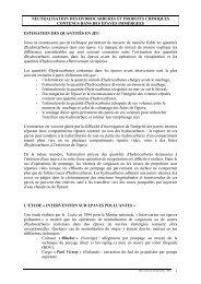 Guide pour la neutralisation des hydrocarbures et produits ... - Cedre