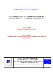Procédures d'Information Mutuelles et poursuites judiciaires - Cedre