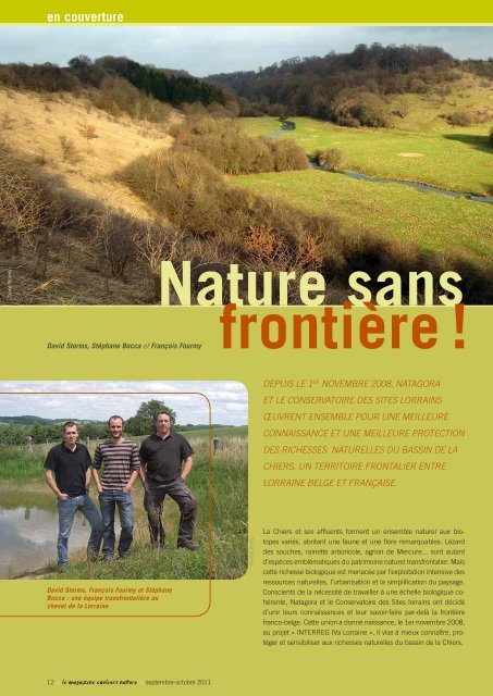 lire l'article - INTERREG IVa Lorraine