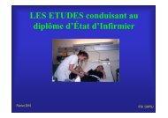 infos candidats concours IDE fev 2010 - Hôpital Paris Saint Joseph