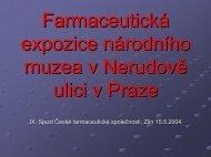 U zlatého lva - Česká farmaceutická společnost