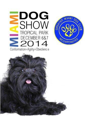 MIami Dog Show Brochure