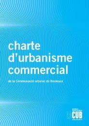 Charte d'urbanisme commercial - Cub