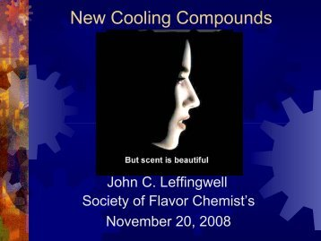 New Cooling Compounds