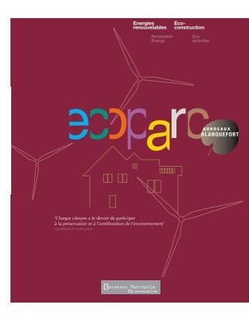 Energies renouvelables Eco- construction - Cub