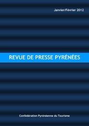 REVUE DE PRESSE PYRÉNÉES - Les Pyrénées