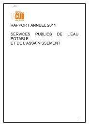 Télécharger la délibération au format PDF - La CUB