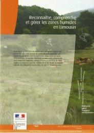 Reconnaitre, Comprendre et gérer les zones humides en Limousin