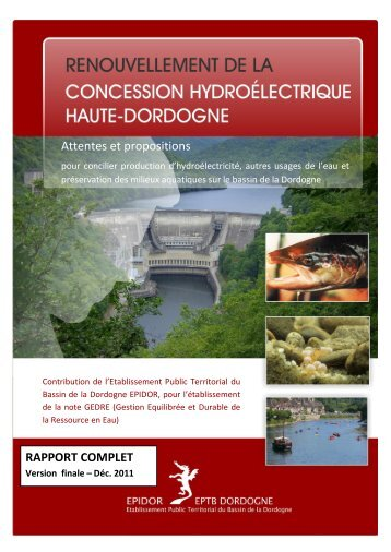 2011_rapport_complet_propositions_EPIDOR - DREAL Limousin