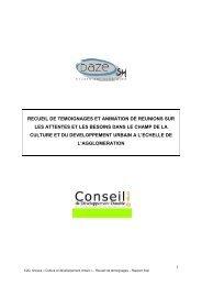 rapport final culture et développement urbain v3 - Cub