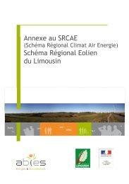 Annexe au SRCAE Schéma Régional Eolien du ... - DREAL Limousin
