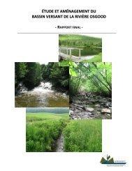 Étude et aménagement du bassin versant de la rivière ... - GROBEC