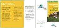 Guide pratique sur les fosses septiques - Ville de Gatineau - GROBEC