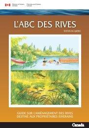 L'ABC des rives - Pêches et Océans Canada / Fisheries and Oceans ...