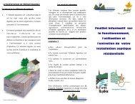 installation sanitaire résidentiel - GROBEC