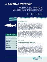 Le touladi - Fondation de la faune du Québec
