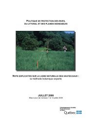 Notes explicatives sur la ligne des hautes eaux : la ... - GROBEC