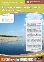 Réserve Naturelle Régionale de Lachaussée - Conseil Régional de ...