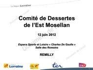 Bilan de la régularité - Conseil Régional de Lorraine