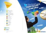 Télécharger la présentation du budget 2012 - Conseil Régional de ...