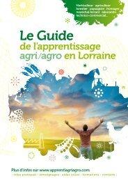 Le guide agri/agro - Conseil Régional de Lorraine