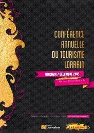 Devenez partenaire du tourisme en Lorraine pro.tourisme-lorraine.fr