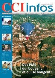 Dossier Des PME qui bougent et qui se bougent - (CCI) de Montauban