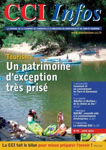 Un patrimoine d'exception très prisé - (CCI) de Montauban