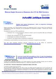 Brève de Septembre 2012 - (CCI) de Montauban
