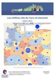 Chiffres clés Tarn-et-Garonne - Edition 2012 - CCI