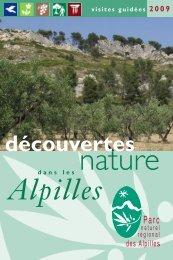 guide découverte 2009 interieur - Parc Naturel Régional des Alpilles