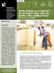 PdF (740 ko) - Programme Solidarité Eau